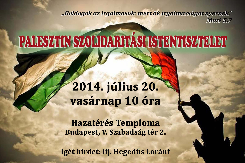palesztin szolidaritas